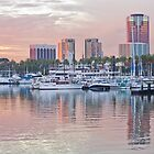 Long Beach Harbor by Merrian O. Lucando