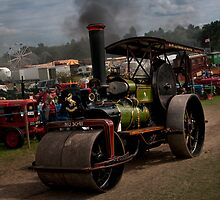 1924 Steam Roller by David J Knight