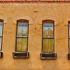 Old Windows, Santa Fe, NM by Mark Bankins