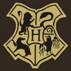 Harry Potter - Hogwarts Crest by marinasinger
