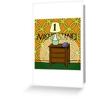 1 Nightstand Greeting Card