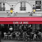 Cafe Le Buci by Tom  Reynen