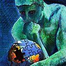 Rodin's Thinker by Michele Meister