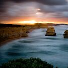 12 Apostles - Great Ocean Road - Victoria by Mark Elshout