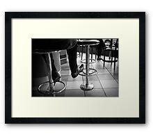 Coffee Bar Style Framed Print