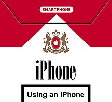 iPhone cigarette pack by SvenS