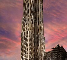 Eight Spruce Street, Gehry's New York Skyscaper by Chris Lord
