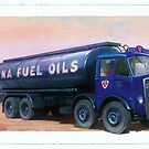 AEC Mammoth Major Fina Fuels by Mike Jeffries