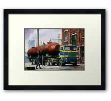 Volvo artic. Framed Print
