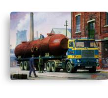 Volvo artic. Canvas Print