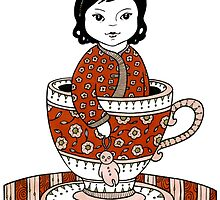 Teacup Adora by Anita Inverarity