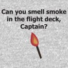 Can You Smell Smoke on the Flight Deck, Captain? (Light) by writesinpen