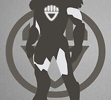 Black Lantern IronMan by caseyjennings