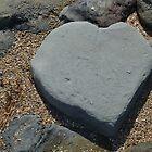 Heart Shaped Rock by Jess Jones