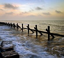 West Runton sunset by Gary Rayner