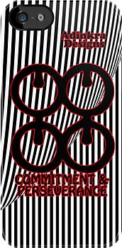 11-iphone4-Adinkra-Series-Commitment-and-Perseverance by Keith Richardson