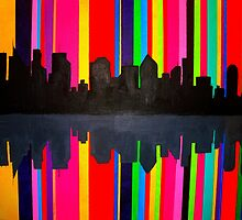 Rainbow City by Christina Darcy