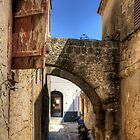 Alleyway in Rhodes Town by Tom Gomez