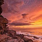 Sunrise over Bondi by Adriano Carrideo