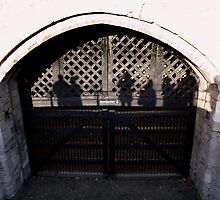 Traitors Gate The Tower Of London With Ghost Shadows by DavidHornchurch