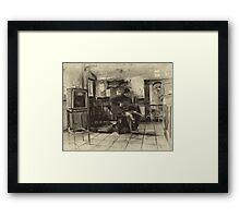 Jamming With Joe Stummer  Framed Print