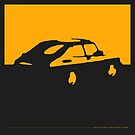 Saab 900, 1990 - Yellow on charcoal by uncannydrive