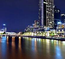Melbourne at Night 0348 by Kayla Halleur