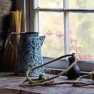 At the Mill Window in Black Creek Pioneer Village by Gerda Grice