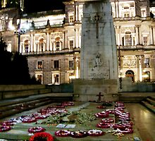 Cenotaph at George Square, Glasgow by ElsT