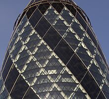 Gherkin building London  by DavidHornchurch