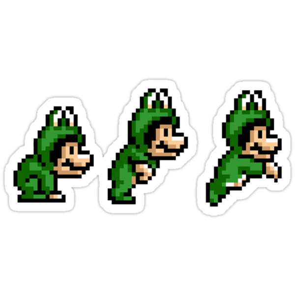 Frogsuit Mario - Hop Jump Go! by Ryan Wilson
