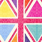 Pink Union Jack by babibell