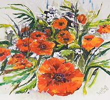 Poppies and Wildflowers - For Who Likes Them... by Elisabeta Hermann