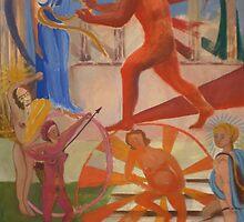 La Ceinture D'Hippolyte by AgnesZirini