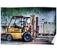 Fork Lifts Poster