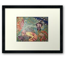 Echo in The Wildwood Framed Print