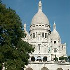 Sacre Coeur in Paris, France by Tangledbylove