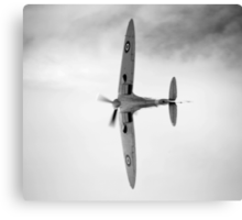 Spitfire display Canvas Print