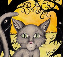 "Remus the cat from ""The Horribles"" by Carolyn Watson-Dubisch"