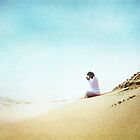 Prayer position, Yoga by the beach by Wari Om  Yoga Photography