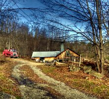 Sugar House Along Route 31 by Monica M. Scanlan