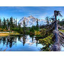 Serenity at Mount Shuksan Photographic Print