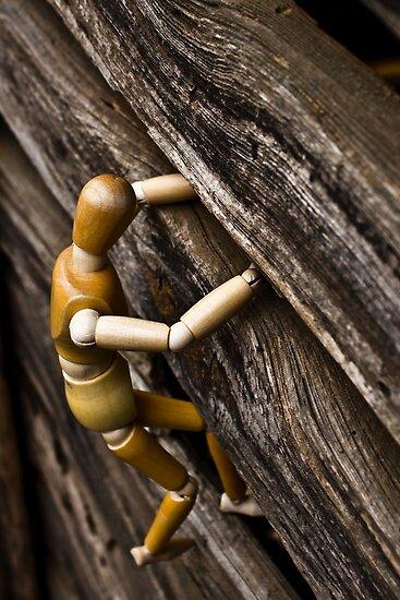 wooden man climbing bran 03 by cadman101