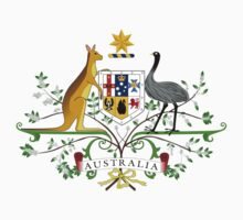australia coat of arms by nadil