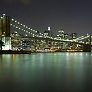 Brooklyn Bridge at Night 4 by BlackRussian