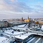 Slussen Winter Wonderland by timboss81