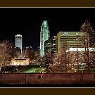 Downtown Omaha, Nebraska by Tim Wright