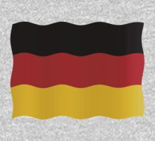 German flag by stuwdamdorp