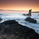 &quot;Cathedral Rocks&quot;  Kiama, NSW - Australia by Jason Asher