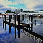 MORNING REFLECTIONS, HOBART   by cschurch
